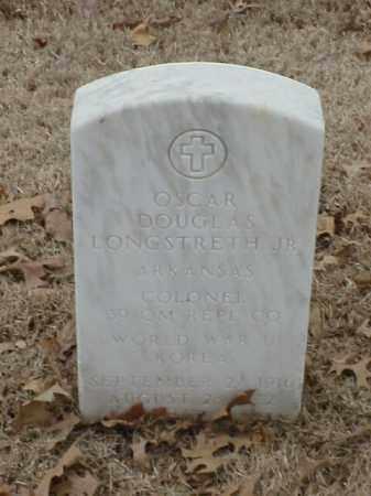 LONGSTRETH, JR (VETERAN 2 WARS, OSCAR DOUGLAS - Pulaski County, Arkansas | OSCAR DOUGLAS LONGSTRETH, JR (VETERAN 2 WARS - Arkansas Gravestone Photos