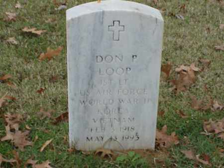LOOP (VETERAN 3 WARS), DON P - Pulaski County, Arkansas | DON P LOOP (VETERAN 3 WARS) - Arkansas Gravestone Photos