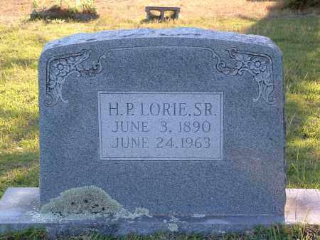 LORIE SR, H.P. - Pulaski County, Arkansas | H.P. LORIE SR - Arkansas Gravestone Photos