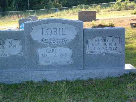LORIE, HENRY P. - Pulaski County, Arkansas | HENRY P. LORIE - Arkansas Gravestone Photos