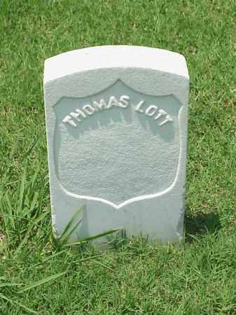 LOTT (VETERAN UNION), THOMAS - Pulaski County, Arkansas | THOMAS LOTT (VETERAN UNION) - Arkansas Gravestone Photos