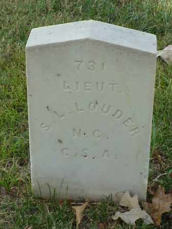 LOUDER (VETERAN CSA), SAMUEL L - Pulaski County, Arkansas | SAMUEL L LOUDER (VETERAN CSA) - Arkansas Gravestone Photos