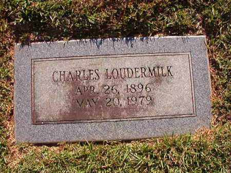 LOUDERMILK, CHARLES - Pulaski County, Arkansas | CHARLES LOUDERMILK - Arkansas Gravestone Photos