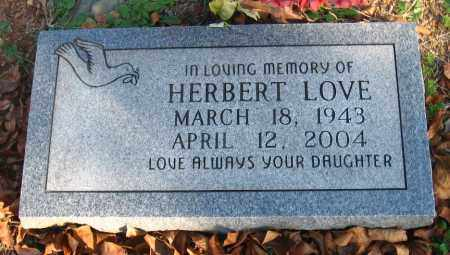 LOVE, HERBERT - Pulaski County, Arkansas | HERBERT LOVE - Arkansas Gravestone Photos