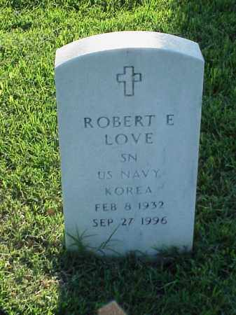 LOVE (VETERAN KOR), ROBERT E - Pulaski County, Arkansas | ROBERT E LOVE (VETERAN KOR) - Arkansas Gravestone Photos