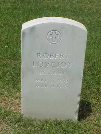 LOVEJOY (VETERAN WWI), ROBERT - Pulaski County, Arkansas | ROBERT LOVEJOY (VETERAN WWI) - Arkansas Gravestone Photos
