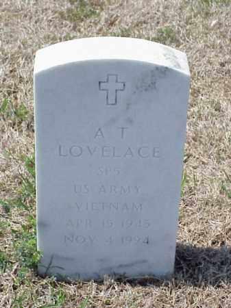 LOVELACE (VETERAN VIET), A T - Pulaski County, Arkansas | A T LOVELACE (VETERAN VIET) - Arkansas Gravestone Photos