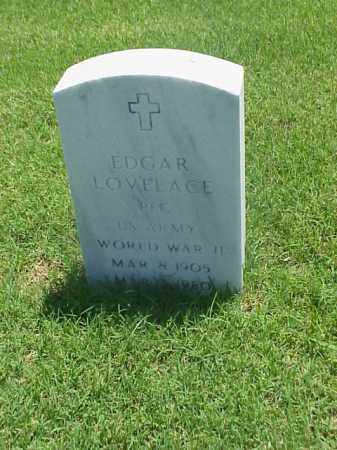 LOVELACE (VETERAN WWII), EDGAR - Pulaski County, Arkansas | EDGAR LOVELACE (VETERAN WWII) - Arkansas Gravestone Photos
