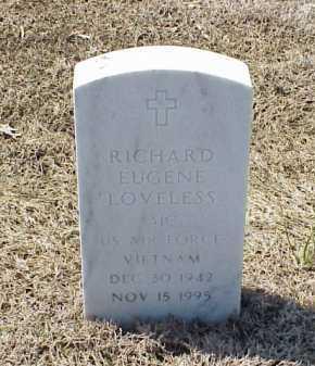 LOVELESS (VETERAN VIET), RICHARD EUGENE - Pulaski County, Arkansas   RICHARD EUGENE LOVELESS (VETERAN VIET) - Arkansas Gravestone Photos