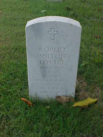 LOVELL (VETERAN  2 WARS), ROBERT MILTON - Pulaski County, Arkansas | ROBERT MILTON LOVELL (VETERAN  2 WARS) - Arkansas Gravestone Photos