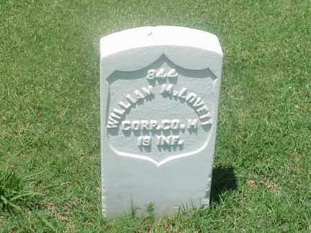 LOVETT (VETERAN UNION), WILLIAM M - Pulaski County, Arkansas | WILLIAM M LOVETT (VETERAN UNION) - Arkansas Gravestone Photos