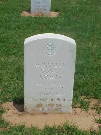 LOWE (VETERAN WWII), WILLIAM OSBY - Pulaski County, Arkansas | WILLIAM OSBY LOWE (VETERAN WWII) - Arkansas Gravestone Photos