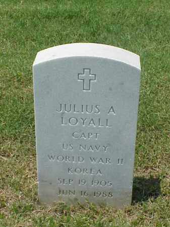 LOYALL (VETERAN 2 WARS), JULIUS A - Pulaski County, Arkansas | JULIUS A LOYALL (VETERAN 2 WARS) - Arkansas Gravestone Photos
