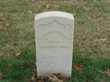 LOYND (VETERAN UNION), THOMAS - Pulaski County, Arkansas | THOMAS LOYND (VETERAN UNION) - Arkansas Gravestone Photos
