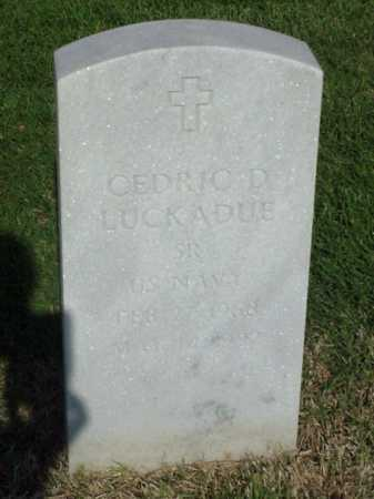 LUCKADUE (VETERAN), CEDRIC D - Pulaski County, Arkansas | CEDRIC D LUCKADUE (VETERAN) - Arkansas Gravestone Photos
