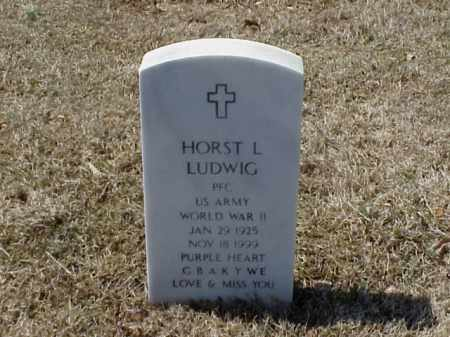 LUDWIG (VETERAN WWII), HORST L - Pulaski County, Arkansas | HORST L LUDWIG (VETERAN WWII) - Arkansas Gravestone Photos