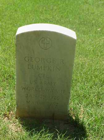LUMPKIN (VETERAN WWII), GEORGE R - Pulaski County, Arkansas | GEORGE R LUMPKIN (VETERAN WWII) - Arkansas Gravestone Photos