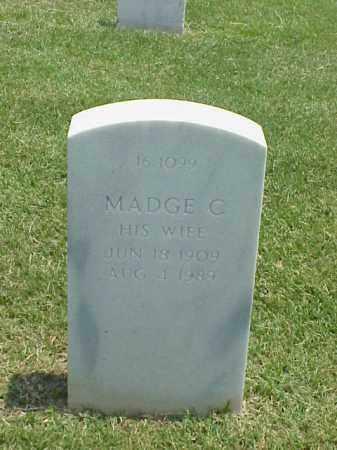LUNDBERG, MADGE C. - Pulaski County, Arkansas | MADGE C. LUNDBERG - Arkansas Gravestone Photos