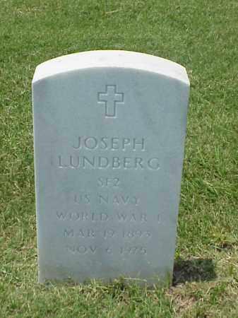LUNDBERG (VETERAN WWI), JOSEPH - Pulaski County, Arkansas | JOSEPH LUNDBERG (VETERAN WWI) - Arkansas Gravestone Photos