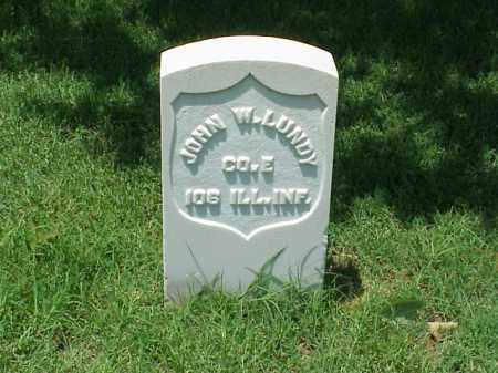 LUNDY (VETERAN UNION), JOHN W - Pulaski County, Arkansas | JOHN W LUNDY (VETERAN UNION) - Arkansas Gravestone Photos