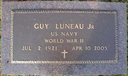 LUNEAU, JR (VETERAN WWII), GUY - Pulaski County, Arkansas | GUY LUNEAU, JR (VETERAN WWII) - Arkansas Gravestone Photos
