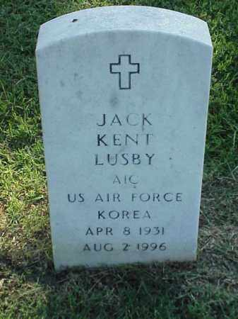LUSBY (VETERAN KOR), JACK KENT - Pulaski County, Arkansas | JACK KENT LUSBY (VETERAN KOR) - Arkansas Gravestone Photos