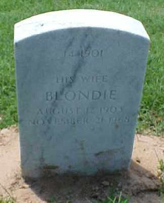 LUSTER, BLONDIE - Pulaski County, Arkansas | BLONDIE LUSTER - Arkansas Gravestone Photos