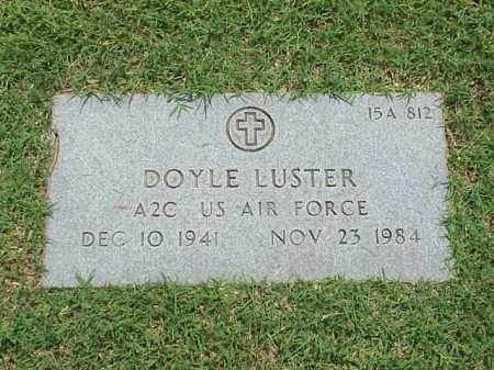 LUSTER (VETERAN), DOYLE - Pulaski County, Arkansas | DOYLE LUSTER (VETERAN) - Arkansas Gravestone Photos