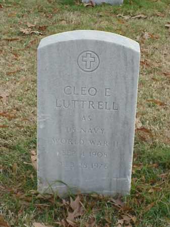 LUTTRELL (VETERAN  WWII), CLEO E - Pulaski County, Arkansas | CLEO E LUTTRELL (VETERAN  WWII) - Arkansas Gravestone Photos