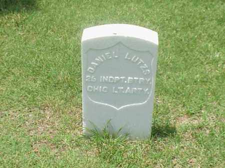 LUTZS (VETERAN UNION), DANIEL - Pulaski County, Arkansas | DANIEL LUTZS (VETERAN UNION) - Arkansas Gravestone Photos