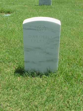 LYLES, JR (VETERAN WWII), DARDEN C - Pulaski County, Arkansas | DARDEN C LYLES, JR (VETERAN WWII) - Arkansas Gravestone Photos