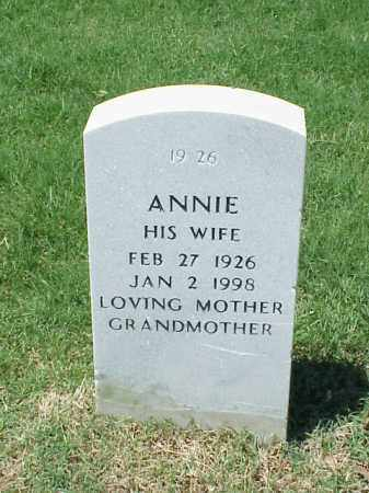 LYNCH, ANNIE - Pulaski County, Arkansas | ANNIE LYNCH - Arkansas Gravestone Photos