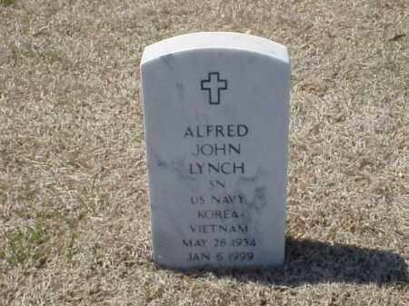 LYNCH (VETERAN 2 WARS), ALFRED JOHN - Pulaski County, Arkansas | ALFRED JOHN LYNCH (VETERAN 2 WARS) - Arkansas Gravestone Photos