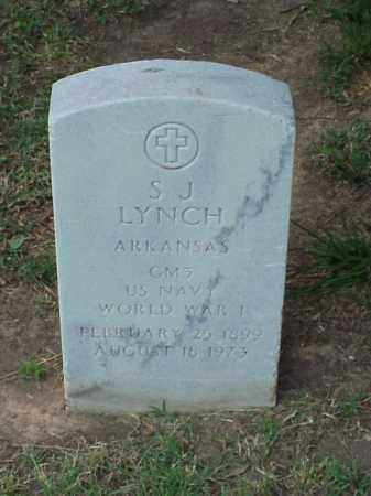 LYNCH (VETERAN WWI), S J - Pulaski County, Arkansas | S J LYNCH (VETERAN WWI) - Arkansas Gravestone Photos