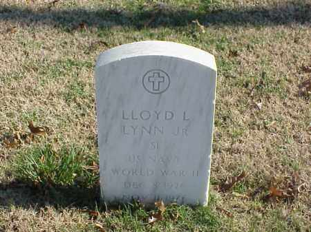 LYNN, JR (VETERAN WWII), LLOYD L - Pulaski County, Arkansas | LLOYD L LYNN, JR (VETERAN WWII) - Arkansas Gravestone Photos