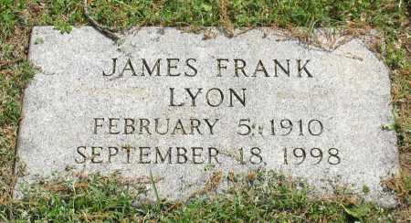 LYON, JAMES FRANK - Pulaski County, Arkansas | JAMES FRANK LYON - Arkansas Gravestone Photos