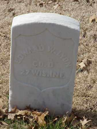 LYON (VETERAN UNION), EDWARD W - Pulaski County, Arkansas | EDWARD W LYON (VETERAN UNION) - Arkansas Gravestone Photos