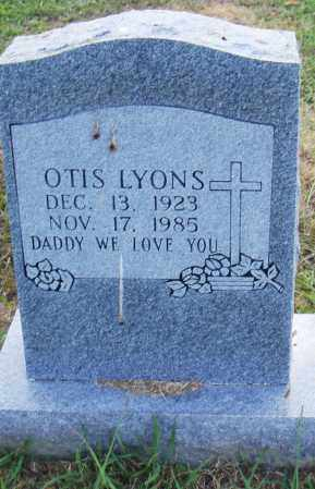 LYONS, OTIS - Pulaski County, Arkansas | OTIS LYONS - Arkansas Gravestone Photos