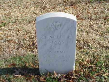 MAAS (VETERAN WWII), CHARLES H - Pulaski County, Arkansas | CHARLES H MAAS (VETERAN WWII) - Arkansas Gravestone Photos