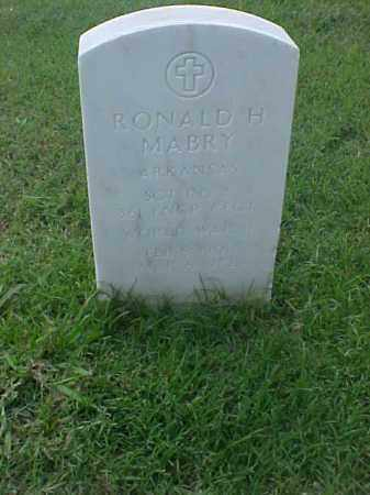 MABRY (VETERAN WWII), RONALD H - Pulaski County, Arkansas | RONALD H MABRY (VETERAN WWII) - Arkansas Gravestone Photos
