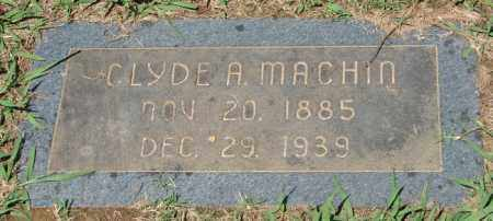 MACHIN, CLYDE A. - Pulaski County, Arkansas | CLYDE A. MACHIN - Arkansas Gravestone Photos