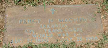MACHIN (VETERAN WWI), PERCY HEWITT - Pulaski County, Arkansas | PERCY HEWITT MACHIN (VETERAN WWI) - Arkansas Gravestone Photos
