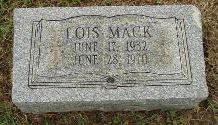 MACK, LOIS - Pulaski County, Arkansas | LOIS MACK - Arkansas Gravestone Photos