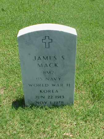 MACK (VETERAN 2 WARS), JAMES S - Pulaski County, Arkansas | JAMES S MACK (VETERAN 2 WARS) - Arkansas Gravestone Photos
