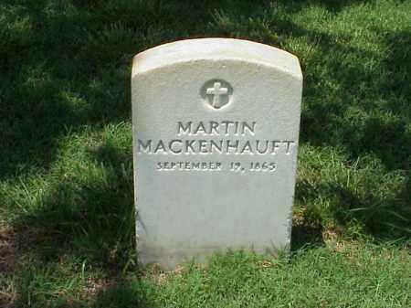 MACKENHAUFT, MARTIN - Pulaski County, Arkansas | MARTIN MACKENHAUFT - Arkansas Gravestone Photos