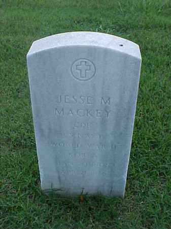 MACKEY (VETERAN 2 WARS), JESSE M - Pulaski County, Arkansas | JESSE M MACKEY (VETERAN 2 WARS) - Arkansas Gravestone Photos