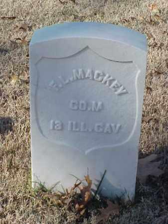 MACKEY (VETERAN UNION), F L - Pulaski County, Arkansas | F L MACKEY (VETERAN UNION) - Arkansas Gravestone Photos