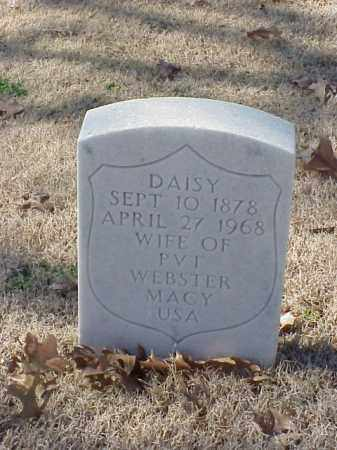 MACY, DAISY - Pulaski County, Arkansas | DAISY MACY - Arkansas Gravestone Photos