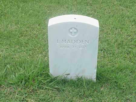 MADDEN, I - Pulaski County, Arkansas | I MADDEN - Arkansas Gravestone Photos