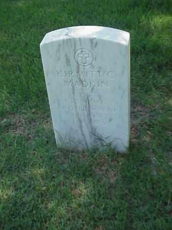 MADKIN (VETERAN WWII), KIRMITT C - Pulaski County, Arkansas | KIRMITT C MADKIN (VETERAN WWII) - Arkansas Gravestone Photos